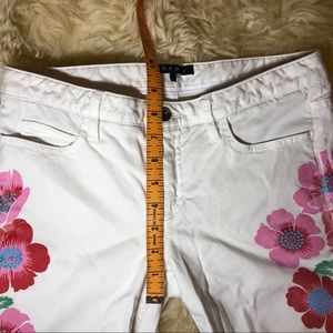 Theory Jeans - THEORY White Patterned Skinny Jeans Size 4